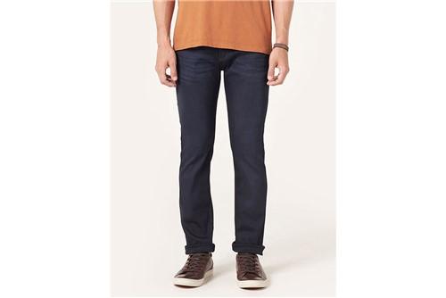 Calça Jeans Blue Dark Viscose - Azul - 38