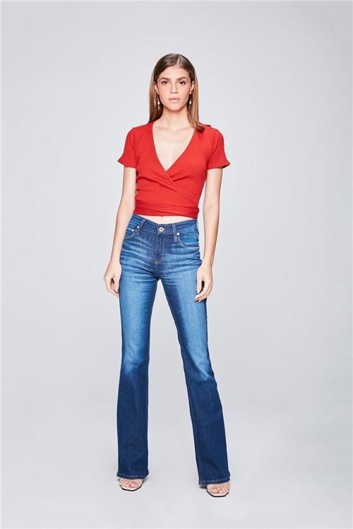 Calça Jeans Boot Cut Feminina