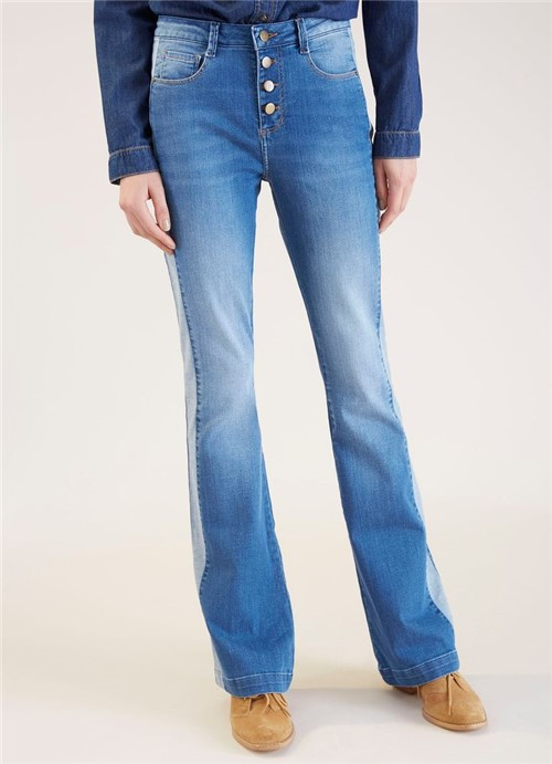 Calca Jeans Bootcut Avesso Jeans 36