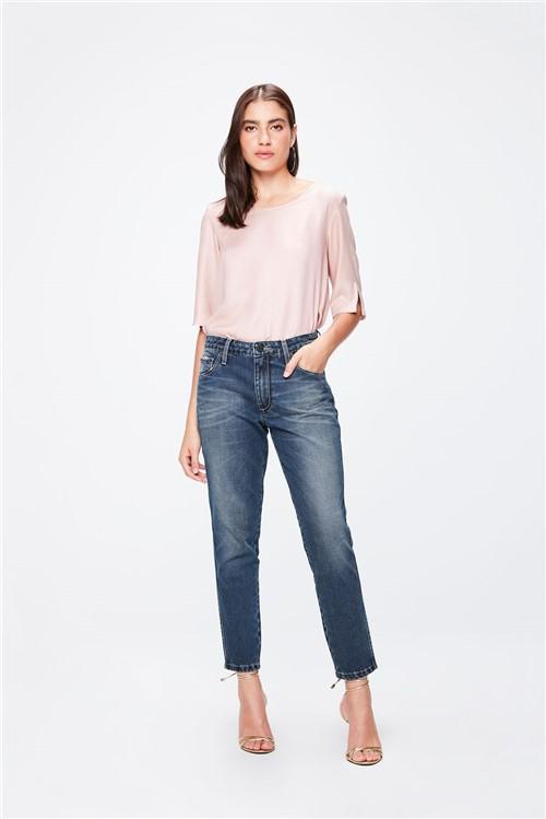 Calça Jeans Boyfriend Cropped