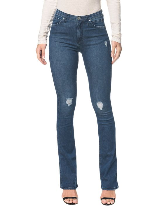 Calça Jeans Ckj 042 Kick Flare - Marinho - 34
