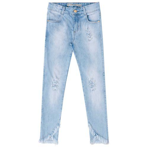 Calça Jeans com Pérolas Vic&Vicky Calça Jeans com Pérolas - 6