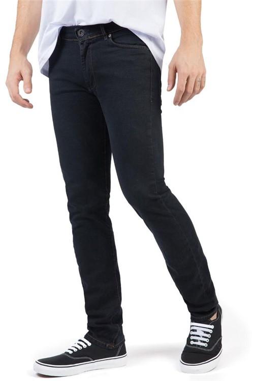 Calça Jeans Comfort Fit Black BLACK/38