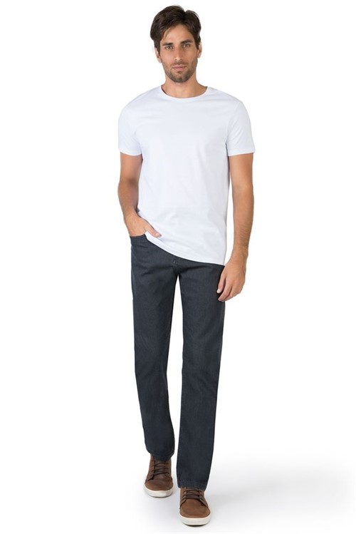 Calça Jeans Comfort Vintage Black BLACK/44