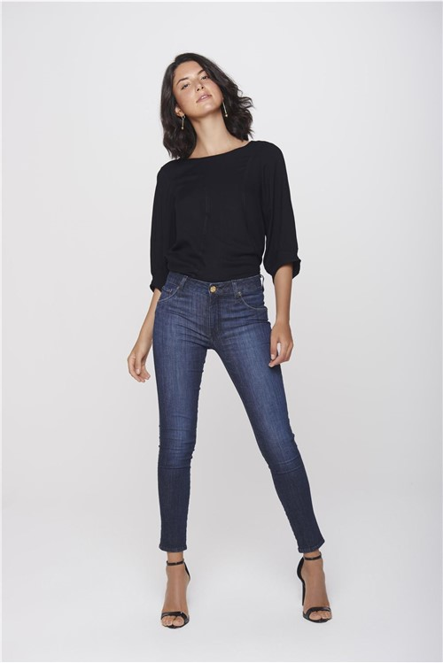 Calça Jeans Cropped Move Denim