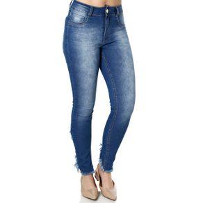 Calça Jeans Feminina Amuage Azul 46