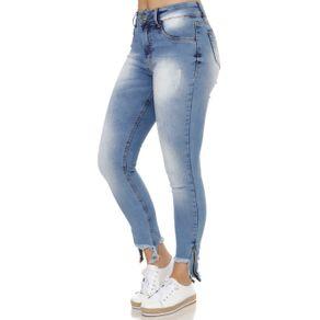 Calça Jeans Feminina Amuage Azul 38