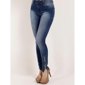 Calça Jeans Feminina Amuage Azul 40