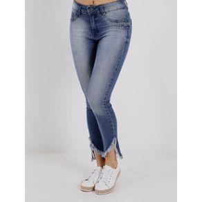Calça Jeans Feminina Amuage Azul 44