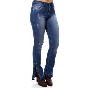 Calça Jeans Feminina Amuage Azul 42