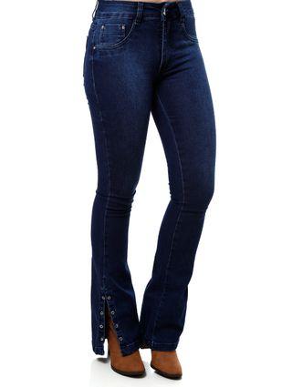 Calça Jeans Feminina Amuage Azul