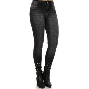 Calça Jeans Feminina Amuage Preto 46