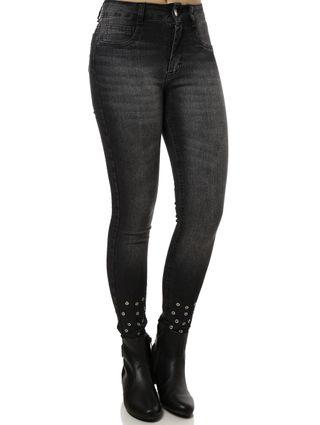 Calça Jeans Feminina Amuage Preto