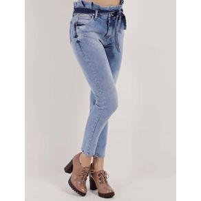 Calça Jeans Feminina Azul 42