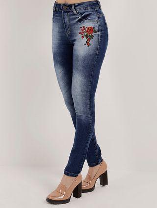 Calça Jeans Feminina Azul