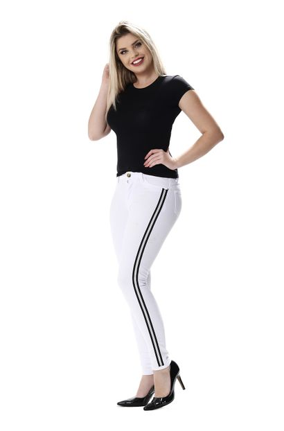 Calça Jeans Feminina Cigarrete - 254734 34