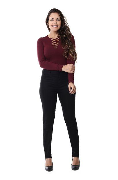 Calça Jeans Feminina Cigarrete - 255248 36