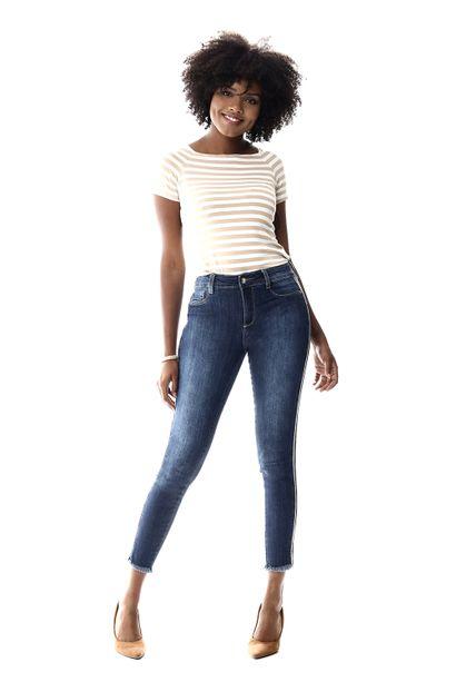 Calça Jeans Feminina Cigarrete - 256537 36