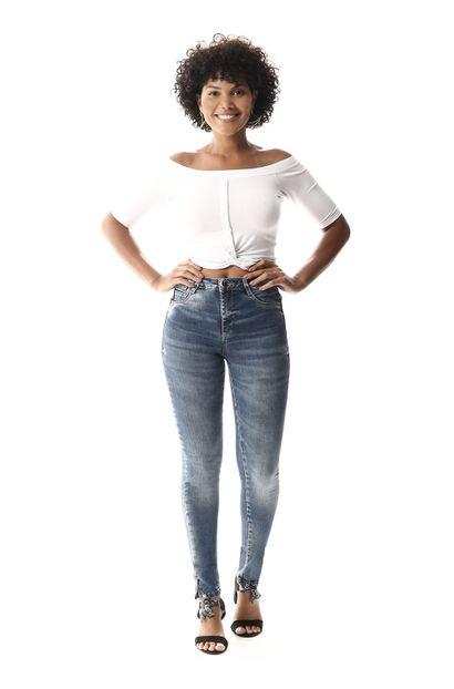 Calça Jeans Feminina Cigarrete - 257921 36
