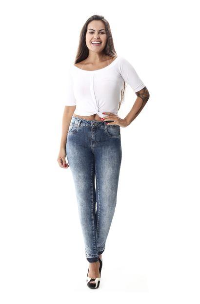 Calça Jeans Feminina Cigarrete - 258085 36