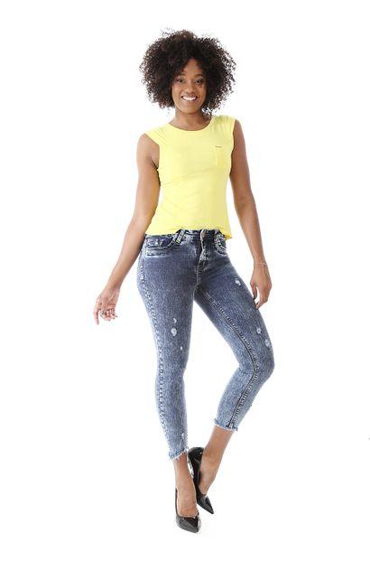 Calça Jeans Feminina Cigarrete - 259071 36