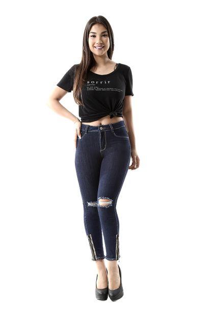Calça Jeans Feminina Cigarrete - 259674 36