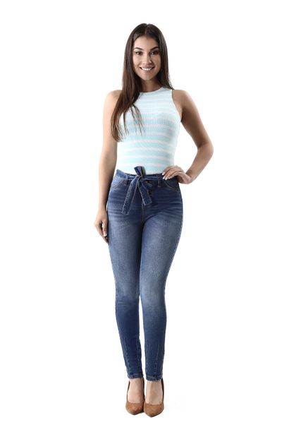 Calça Jeans Feminina Cigarrete - 259796 36