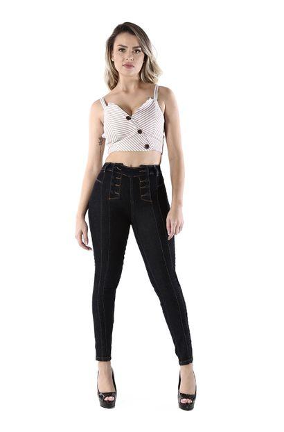 Calça Jeans Feminina Cigarrete - 260110 34