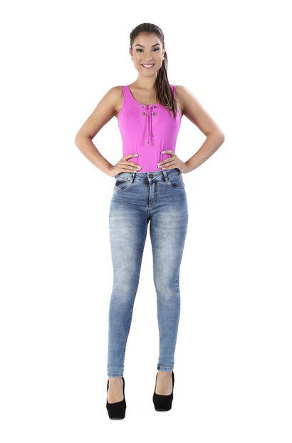 Calça Jeans Feminina Cigarrete - 260138 36