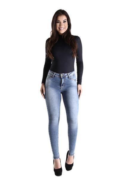 Calça Jeans Feminina Cigarrete - 260558 36