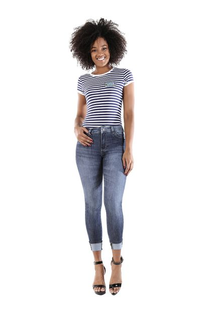 Calça Jeans Feminina Cigarrete - 260388 36