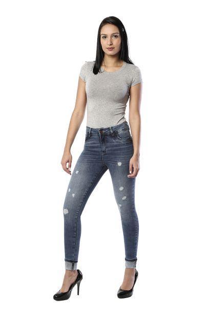 Calça Jeans Feminina Cigarrete - 260297 36