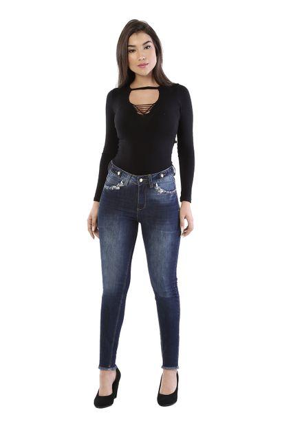Calça Jeans Feminina Cigarrete - 261039 36