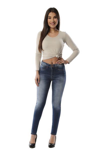 Calça Jeans Feminina Cigarrete - 261315 36