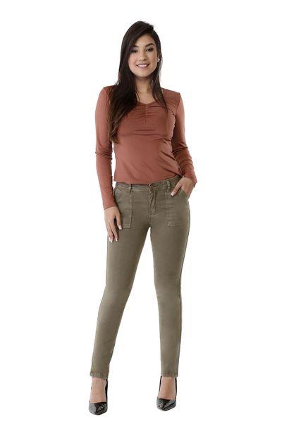 Calça Jeans Feminina Cigarrete - 261514 36