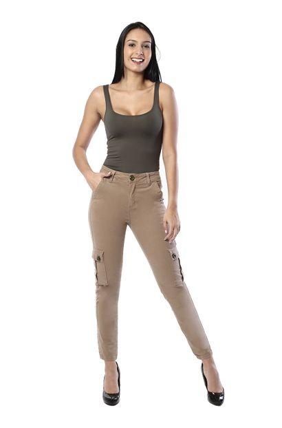 Calça Jeans Feminina Cigarrete - 261631 36