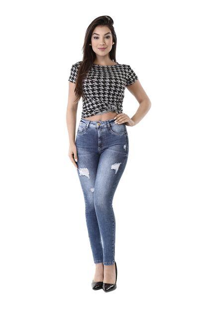 Calça Jeans Feminina Cigarrete Sculp - 260525 36