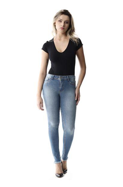 Calça Jeans Feminina Cigarrete Up - 257362 36