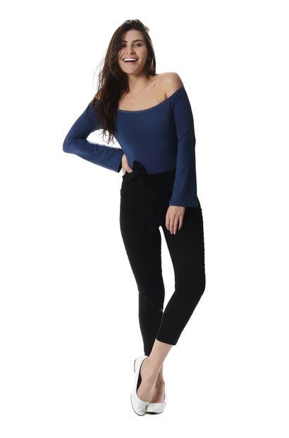 Calça Jeans Feminina Cropped - 257560 40