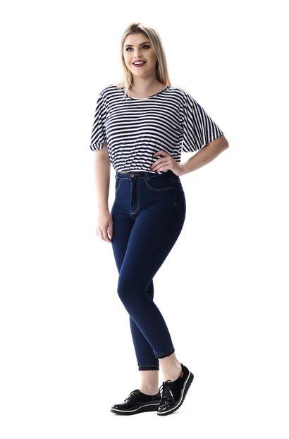 Calça Jeans Feminina Cropped Super Lipo - 256619 36