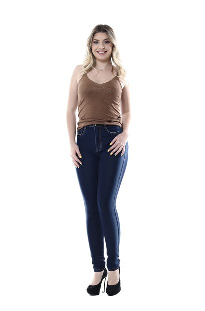 Calça Jeans Feminina Legging Super Lipo - 254432 36