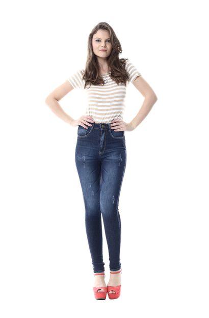 Calça Jeans Feminina Legging Super Lipo - 255657 36