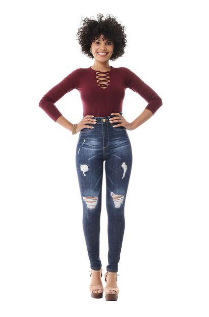 Calça Jeans Feminina Legging Super Lipo - 256021 36