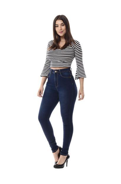 Calça Jeans Feminina Legging Super Lipo - 256357 44
