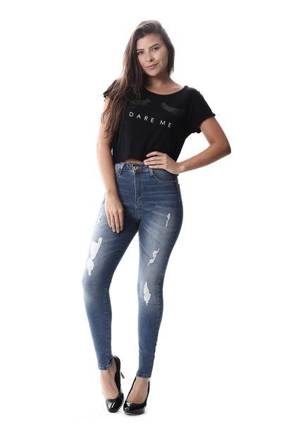 Calça Jeans Feminina Legging Super Lipo - 257624 36
