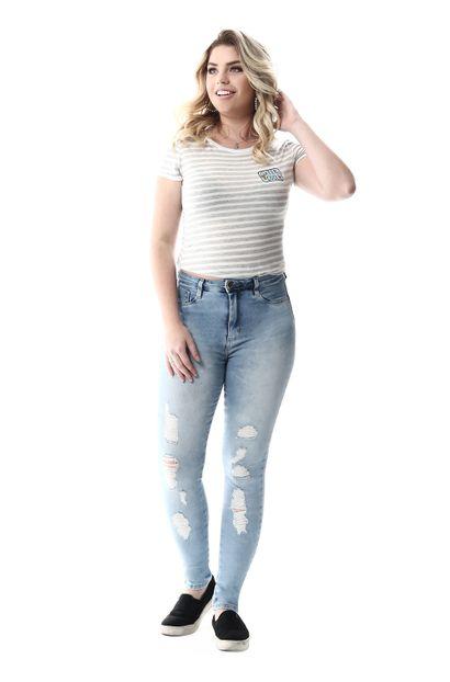 Calça Jeans Feminina Legging Super Lipo - 257282 36