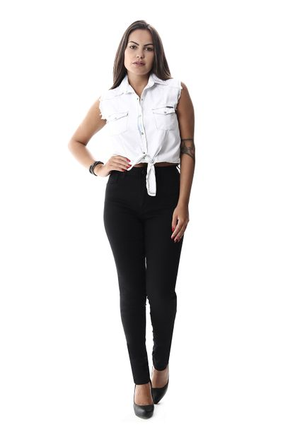 Calça Jeans Feminina Legging Super Lipo - 257942 36