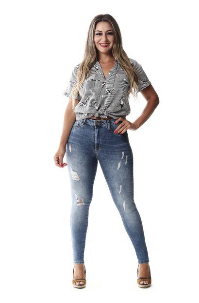 Calça Jeans Feminina Legging Super Lipo - 257970 36