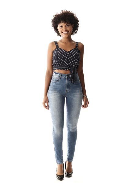 Calça Jeans Feminina Legging Super Lipo - 258075 44