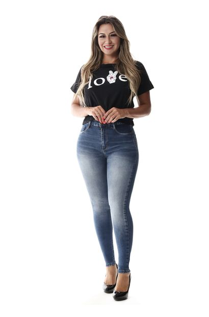 Calça Jeans Feminina Legging Super Lipo - 258123 36